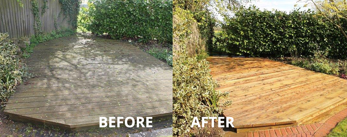 Deck Cleaning & Sealing