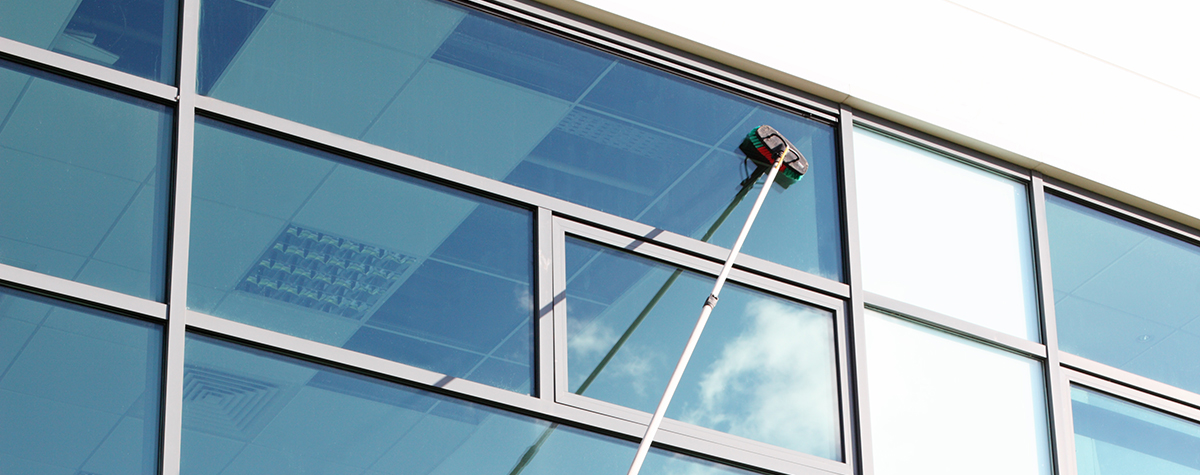 commercial window cleaning Aberdeen and Aberdeenshire