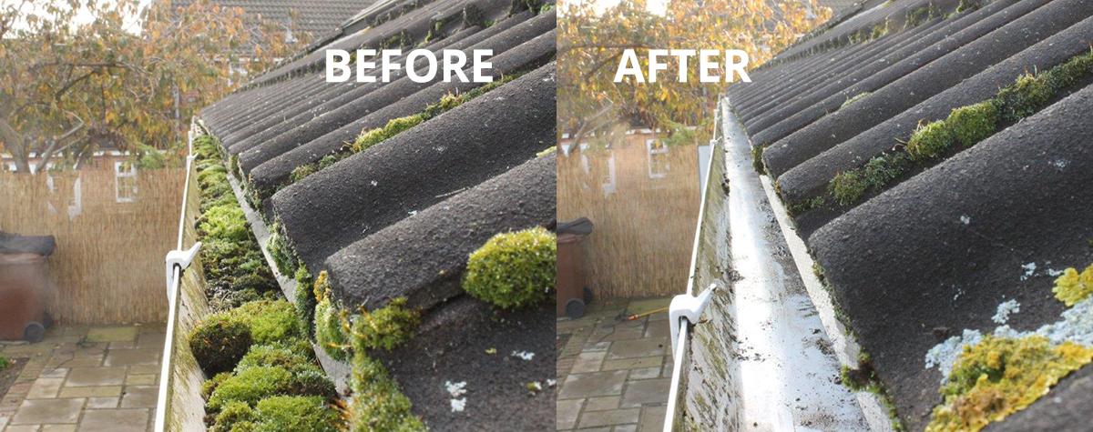 gutter cleaning in Aberdeen and Aberdeenshire